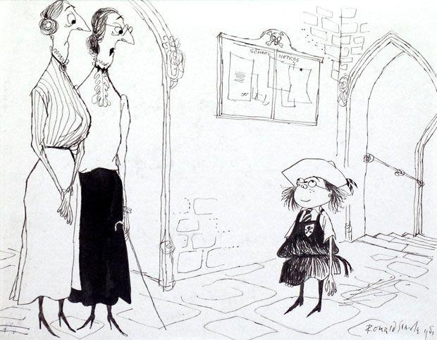 ronald searle cartoonist - Pesquisa Google