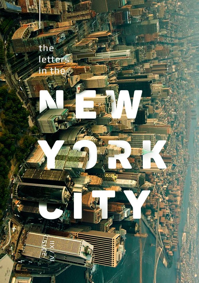 The letters in the cities                                                       …