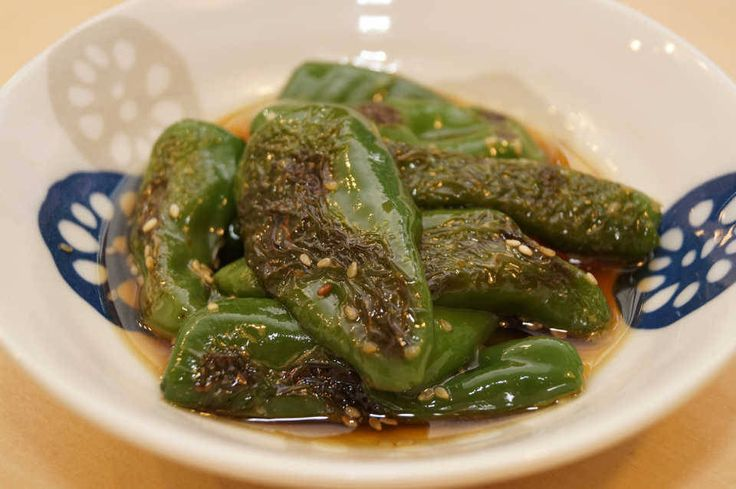 煮汁ジュワッチ♩めんつゆで楽勝『ピーマンの煮浸し』の作り方 - macaroni