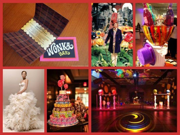 Wonka Theme Wedding