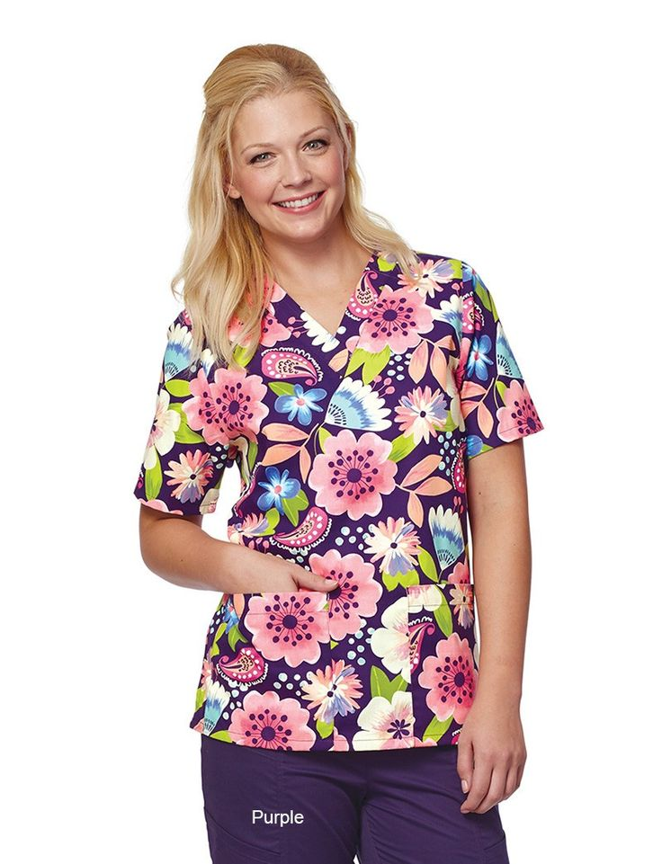 Share Tafford with your friends and receive a promo code for $5 OFF your order! (on qualifying brands) Tafford Delicate Balance 2 Pocket Scrub Top