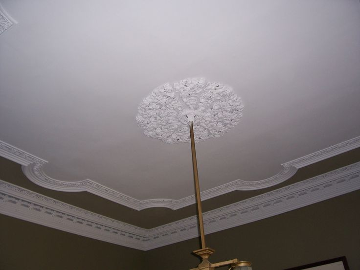 Ceiling of the Pearson Boyer House, originally owned by Stephen Edward Pearson. The house is particularly memorable the ceiling medallion in the parlor. Tim Crowley, expertly trained in Ireland, was annoyed when Cpt Jack Smith brought in an outsider to do the plasterwork at nearby Glen Mary. Crowley set out to upstage him, and he did so by making the Pearson parlor ceiling a craftsman's delight.