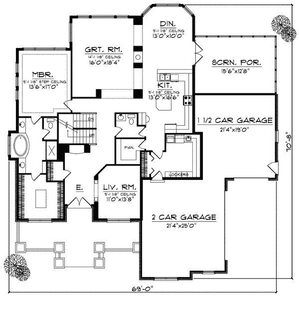 24 best Plans et maisons images on Pinterest Home plans - plan de maison sur terrain en pente