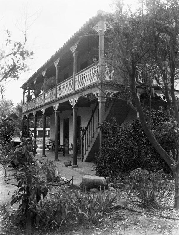 Historic Houses of California - Los Angeles County - San Fernando - Geronimo Lopez Adobe (1882)