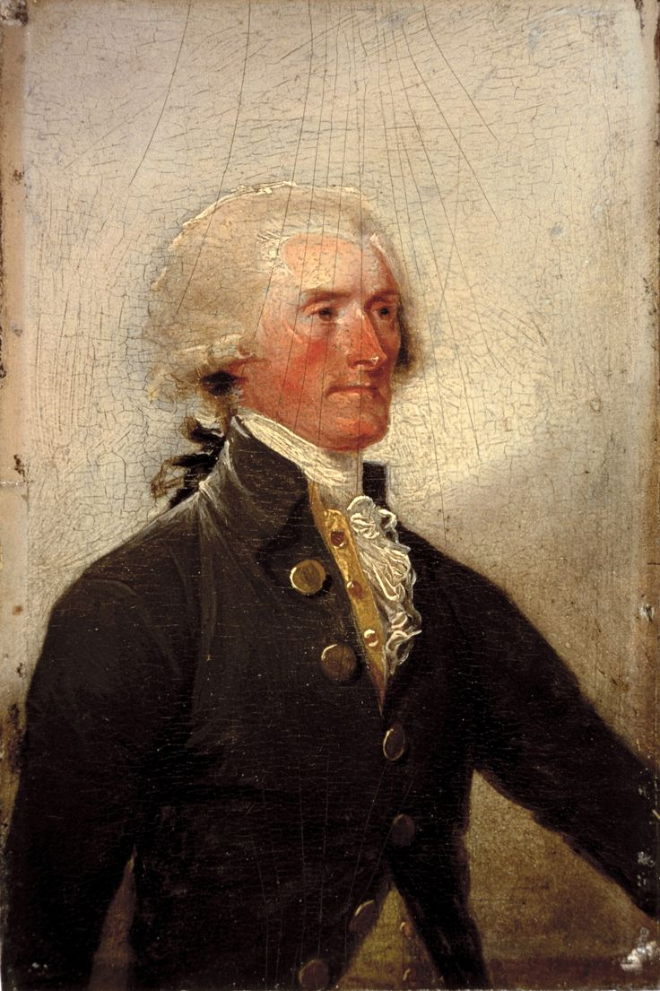 Thomas Jefferson in 1788 by John Trumbull. There has been much controversy over Thomas Jeffersons relationship with Sally Hemings, a slave on his plantation. It is not conclusive that Jefferson fathered children with Hemings; it could have been another Jefferson family member. Jefferson freed Hemings's children at the end of his life. He didn't do that for any of his other slaves.