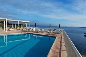 Enjoy exceptional views from Hôtel Logis Saint Christophe, Calvi, France