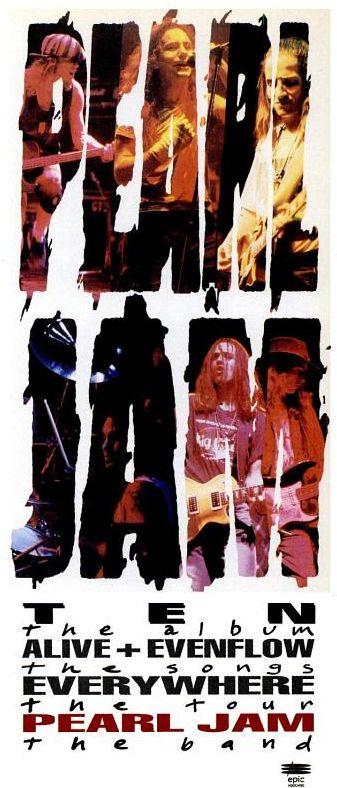 """Pearl Jam, """"Ten"""" [1992]"""