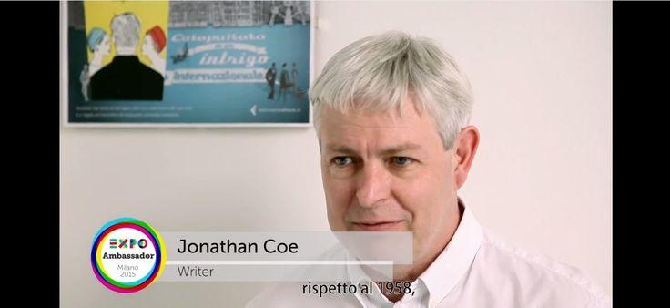Ambassador Expo Milano 2015 Jonathan Coe #Expo2015 #Milan
