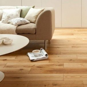 Florence Rustic Oak 150mm Brushed and Oiled Solid Flooring