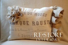 RESTORE INTERIORS: Printing on Fabric