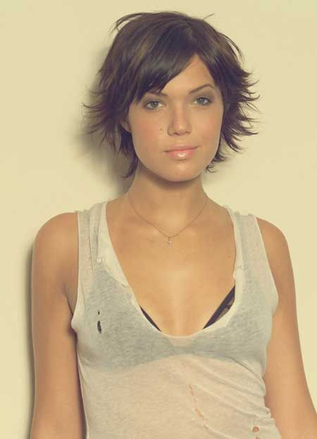 25 best ideas about Short hairstyles with fringe on Pinterest