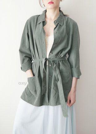 Kup mój przedmiot na #vintedpl http://www.vinted.pl/damska-odziez/plaszcze/18892528-3-za-2-oliwkowo-szary-trencz