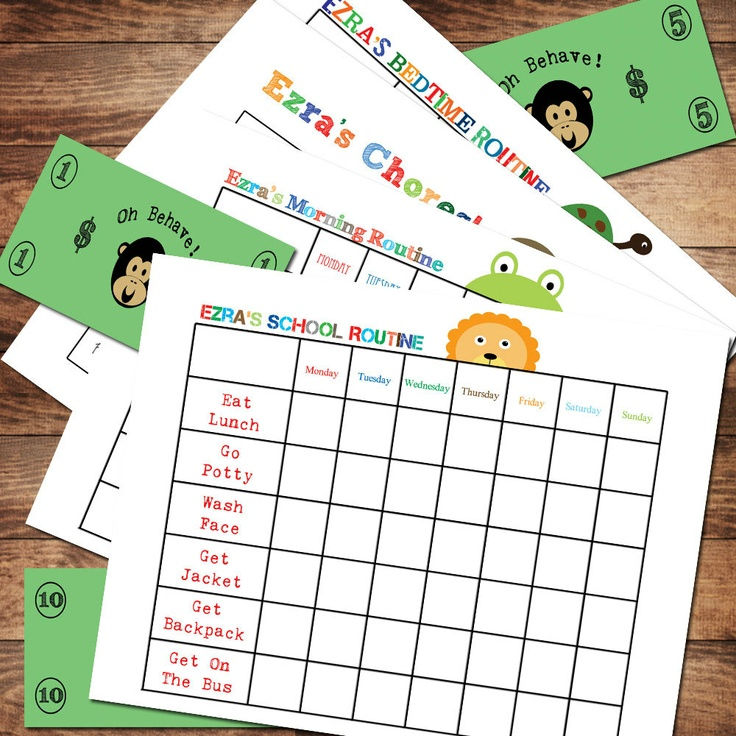 80 Best Images About Kids Charts And Rewards Methods On