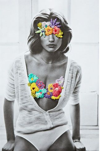 Cool concept covering bra this would be cute if taken out at the beach and embroidered over to cover bathing suit.