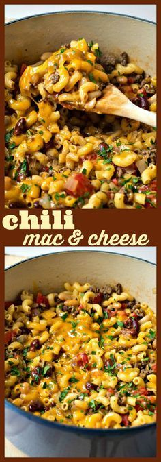 Chili Mac  Cheese – Hearty bean chili is cooked with macaroni and covered with cheese to make for one hearty dish perfect for those cold nights! Healthy game movie gluten free girls ideas date late carvings fight poker triva ladies guys friday burns hens saturday easy photography party boys market quotes cooking mornings ovens kids one port peanut butter cheese meat low carb suces friends veggies chocolate chips sweets vegans oats recipes weight loss buzzfeed baked chicken health clean...