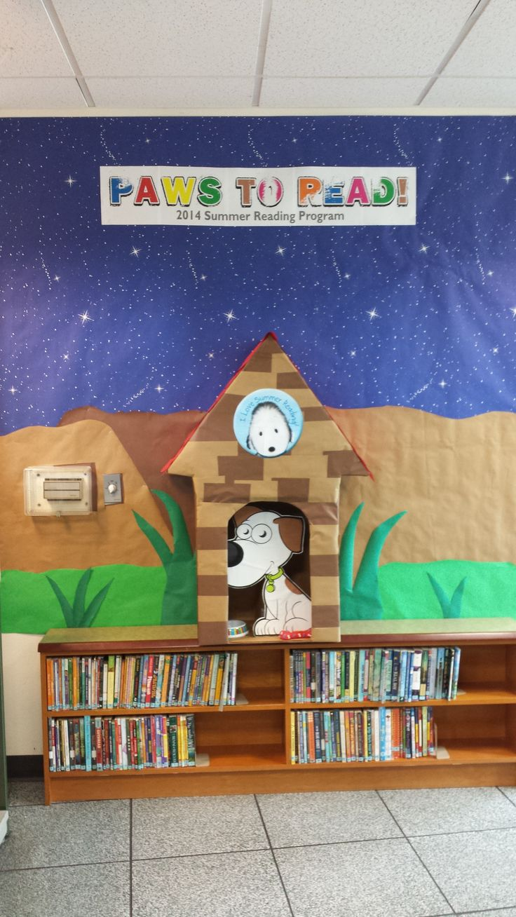 Paws to Read display