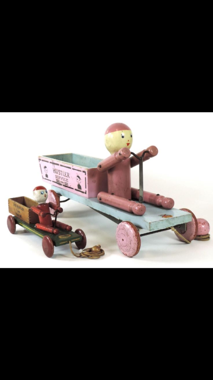 Claasic vintage toys vintage toys second shout out http www - Antique Hustler Toy Corp Sambo Wooden Pull Toy Horse Samboantique Toysvintage