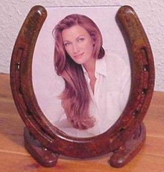 Western Horseshoe Picture Frame