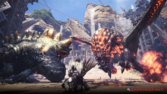 Monster Hunter World Gameplay Screenshot 4 Monster Hunter World Monster Hunter Monster