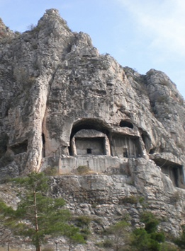Pontic Tombs, Amasya, Turkey (a.k.a. Amasia, Western Armenia)