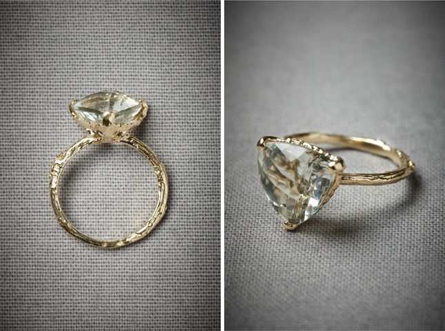 Evergreen Hollow Ring ($770): Doesn't this look like a ring out of A Midsummer Night's Dream? Or Lord of the Rings? In a good way?! Yeah, we think so too.