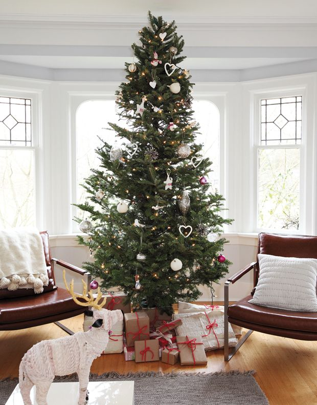 Christmas tree decorating trends for trees felt