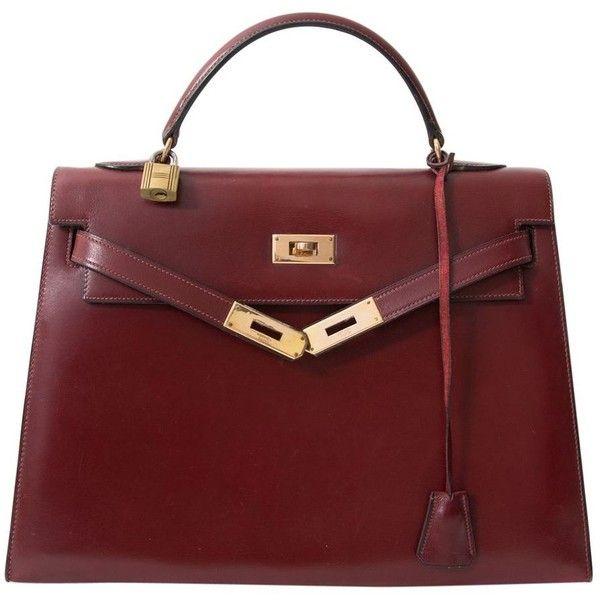 BAG HERMÈS (22.200 BRL) ❤ liked on Polyvore featuring bags, handbags, bolsas, purses, hermes, red handbags, genuine leather purse, red leather handbags, leather handbags and leather handbag purse