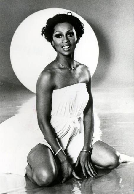 Singer Lola Falana poses for a promotional photo taken on ...