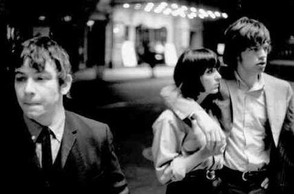 Eric Burdon and Mick Jagger