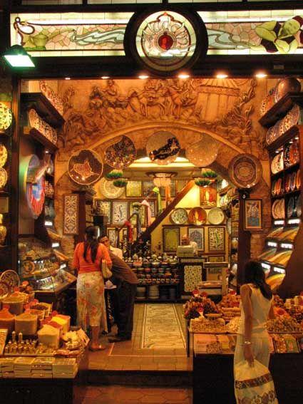 Market in Istanbul, Turkey.  :)