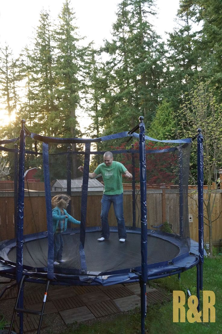 Using A Trampoline Without Breaking Your Neck