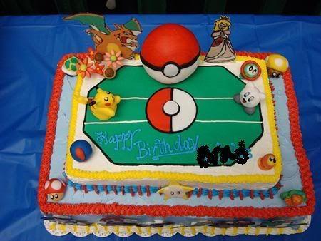 smash bros cake   Re Happy Birthday Gotenks Page 3 Super Smash Bros Brawl » Pokemon ...