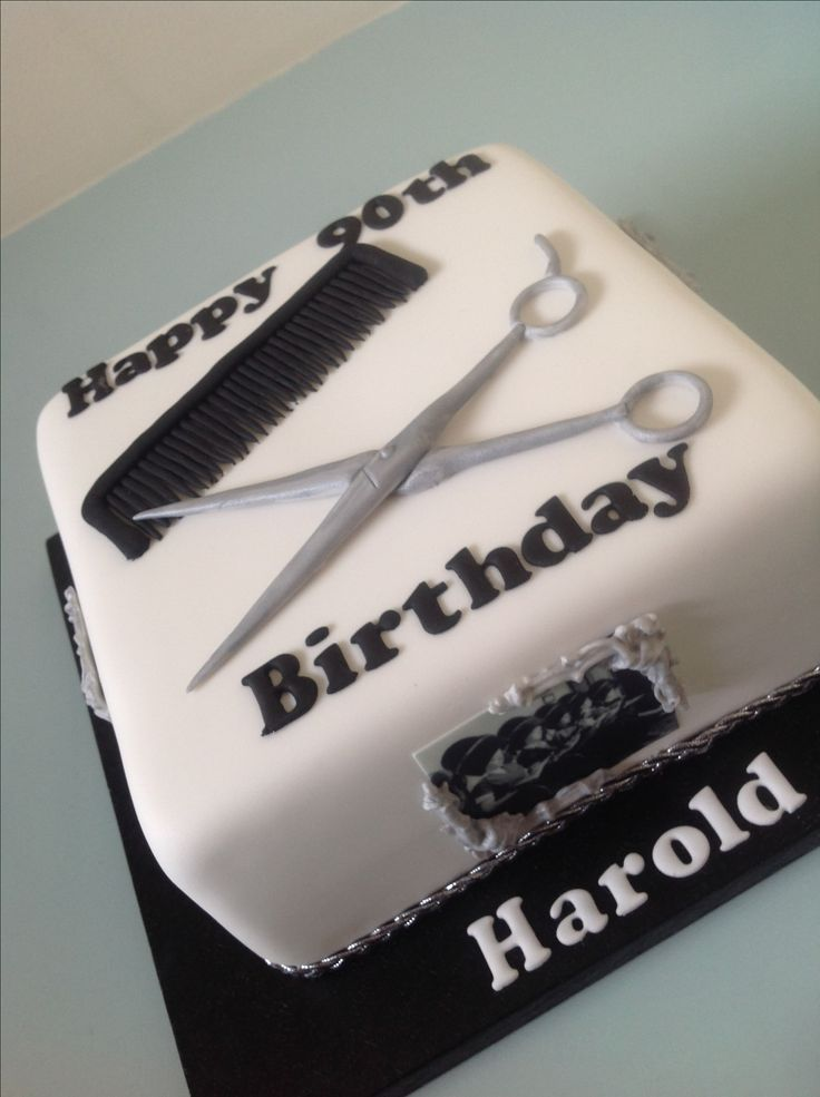 Hairdressers cake