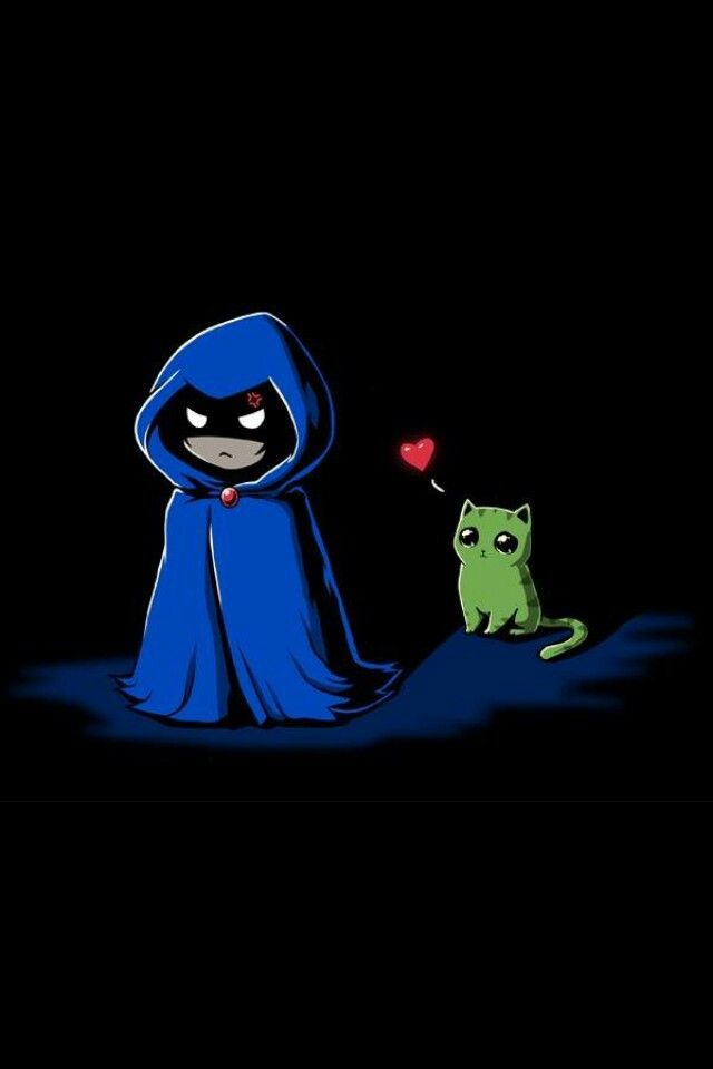 Raven and Beastboy <3