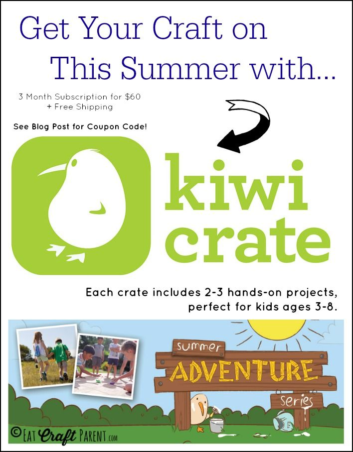 93 best reviews get the inside scoop on the best products craft this summer with kiwi crate fandeluxe Gallery