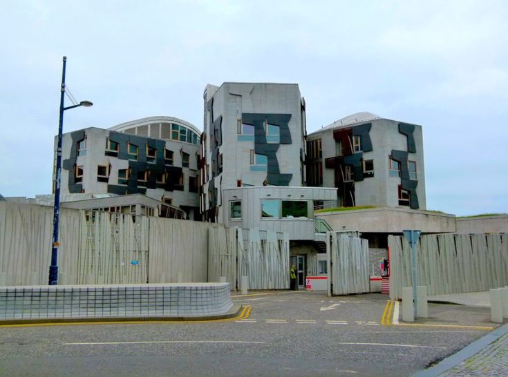 Scottish Parliament Building is striking and controversial - Virily