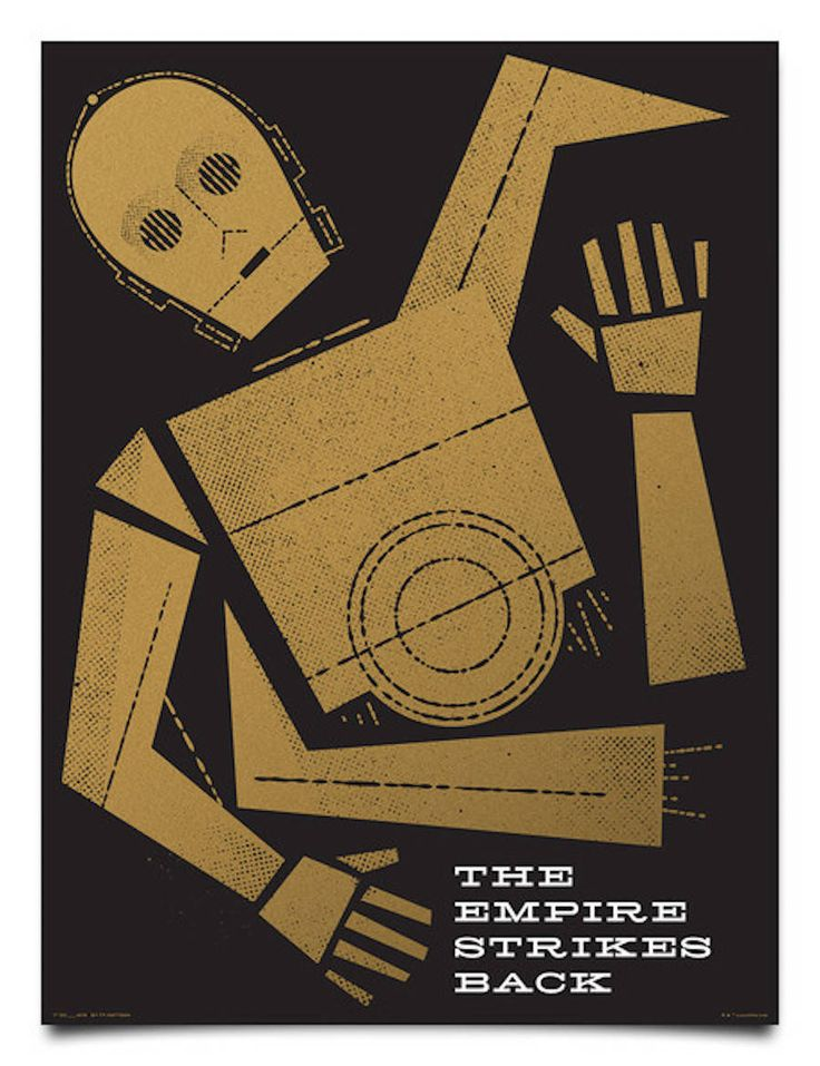 Amazing Graphic Star Wars Posters – Fubiz Media