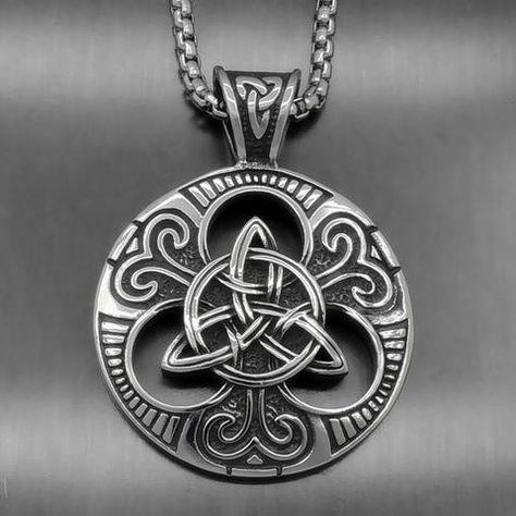 Anillo plata-tribal-celtas-celtic celta triquetra Trinidad