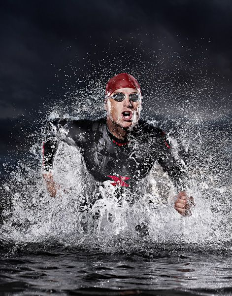 Xterra Wetsuits by Tim Tadder, via Behance