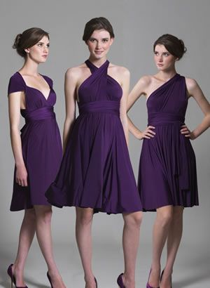 Multiway Bridesmaid Dress by In One Clothing