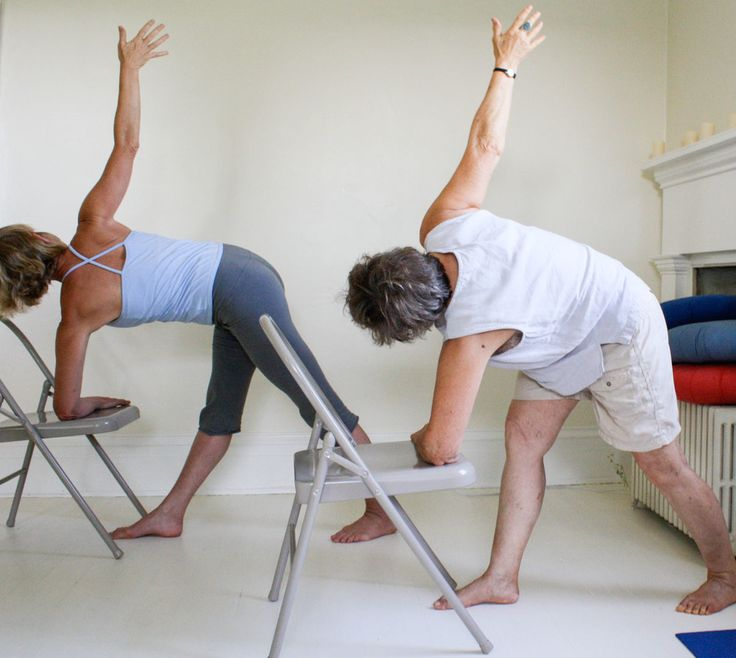 18 best images about yoga osteo with gaileee on pinterest for Chair yoga benefits