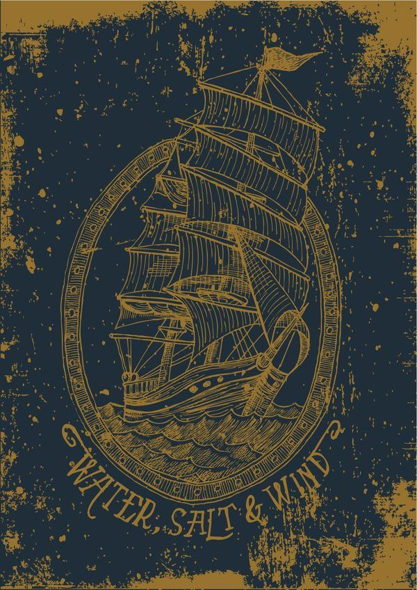 This is lovely. Sailor Danny by Danilo _ Sailor Danny _ Mancini, via Behance