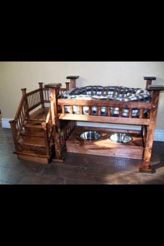 I need this for my imaginary dog! Royal Dogs Bed