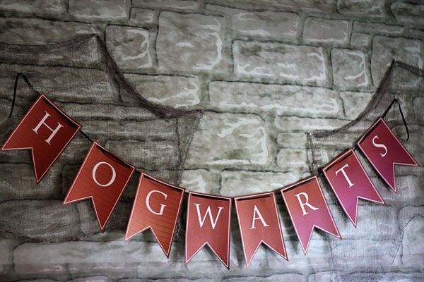 #Halloween -- Harry Potter Themed Halloween Party [ #FreePrintables ]