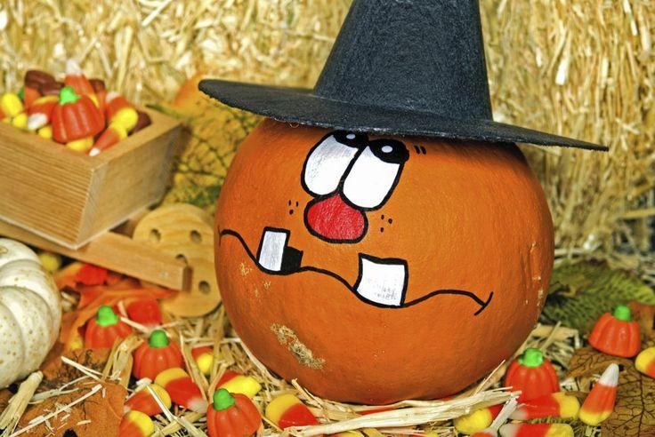 Dynia na Halloween nie musi być wyłącznie wydrążonym w środku upiornym lampionem. Przekonamy Cię, że dynia na Halloween może być sympatyczna a nawet śmieszna. Zobacz 20 pomysłów w galerii!