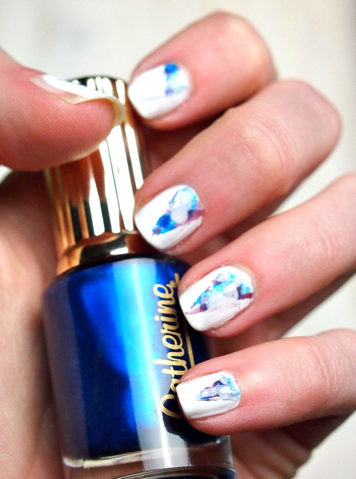 Nailart tutorial watermarble