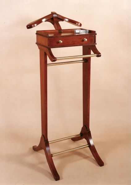 Valet Stand Classic Hand Made English Furniture