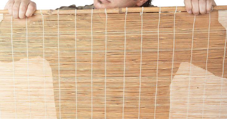 25 melhores ideias de cortinas de bambu no pinterest - Cortina de bambu ...