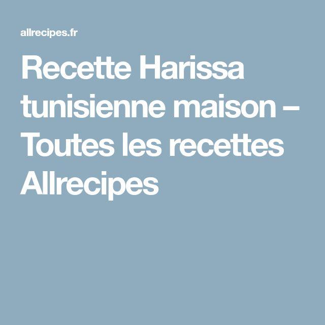 Recette Harissa tunisienne maison – Toutes les recettes Allrecipes