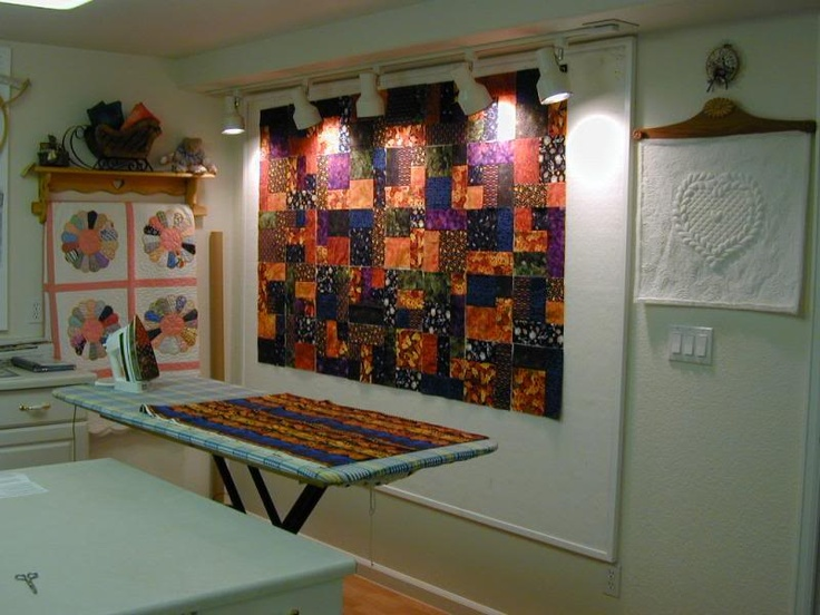 91 best Quilting room: Design Wall images on Pinterest | Workshop ...